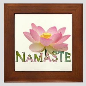 Namaste - Framed Tile