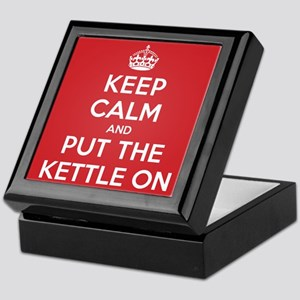 Put the Kettle On Keepsake Box