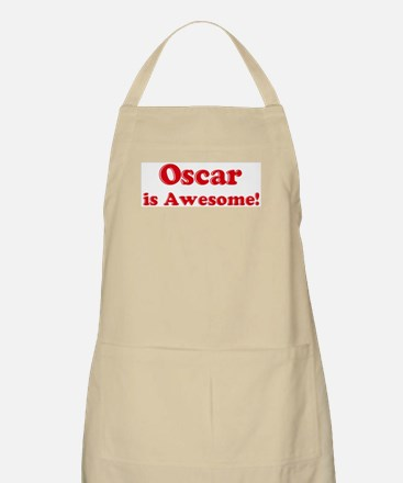 Oscar is Awesome BBQ Apron