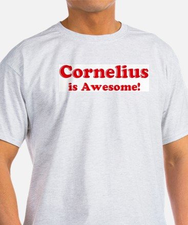 Cornelius is Awesome Ash Grey T-Shirt