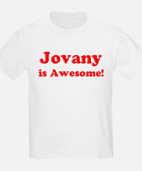 Jovany is Awesome Kids T-Shirt
