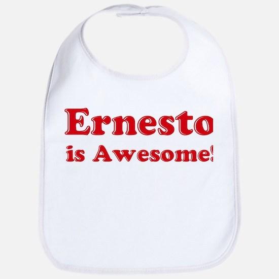 Ernesto is Awesome Bib