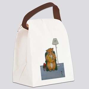 Dennis Woodhill Whiskers Canvas Lunch Bag