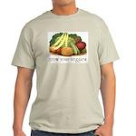grow your veggies Light T-Shirt
