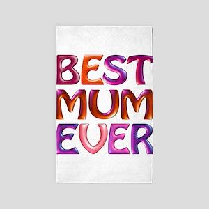 Best Mum Ever - fabspark colorful 3D txt 4K big -