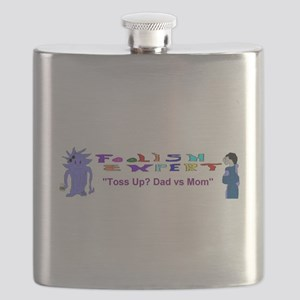 Foolish Expert Dad vs Mom Flask