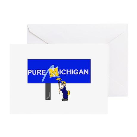 Michigan Greeting Cards (Pk of 10)
