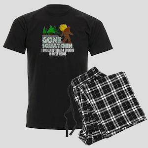 Distressed Original Gone Squatchin Design Men's Da