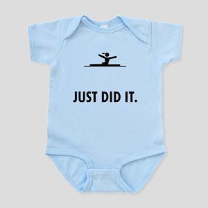 Gymnastic Floor Exercise Infant Bodysuit