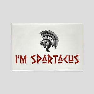 I'm Spartacus Rectangle Magnet