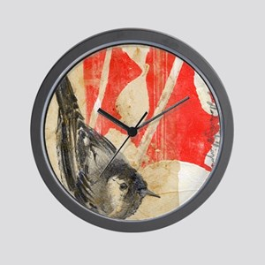 Waiting For The Red - Wall Clock