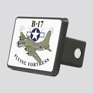 B-17 flying fortress Rectangular Hitch Cover