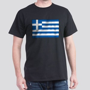 Greece - Greek Flag Dark T-Shirt