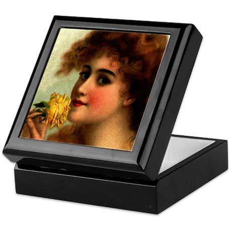 Victorian Beauty Keepsake Box