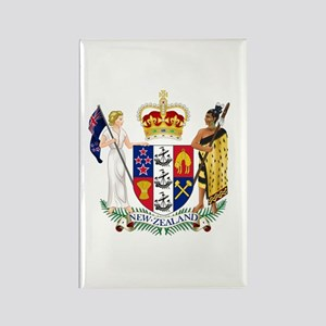 Coat of Arms New Zealand Rectangle Magnet