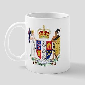 Coat of Arms New Zealand Mug