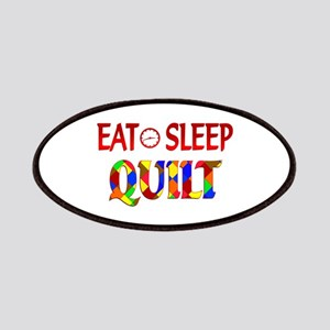 Eat Sleep Quilt Patches