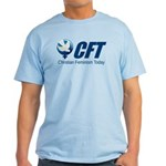 Cft Logo Light Blue T-Shirt (men's Sizes)