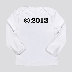 Copyright 2013 Long Sleeve Infant T-Shirt