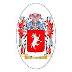 Armanno Sticker (Oval)