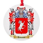 Armanni Round Ornament