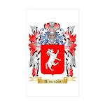 Armandin Sticker (Rectangle 50 pk)