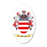 Armand 20x12 Oval Wall Decal