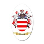 Armand 35x21 Oval Wall Decal