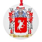 Arman Round Ornament