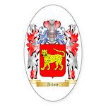 Arlote Sticker (Oval 50 pk)