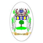 Arkwright Sticker (Oval 10 pk)