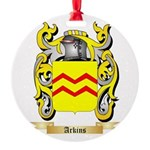 Arkins Round Ornament