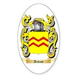 Arkins Sticker (Oval 10 pk)