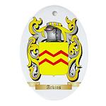 Arkins Ornament (Oval)