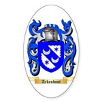 Arkenbout Sticker (Oval)