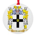 Ariste Round Ornament
