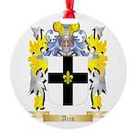 Aris Round Ornament