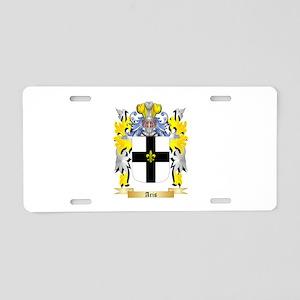 Aris Aluminum License Plate