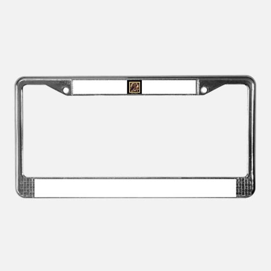 Funny Queens License Plate Frame