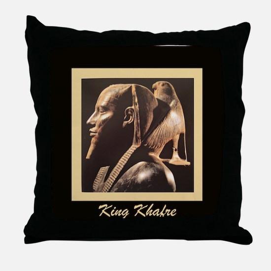Cute Akhenaten Throw Pillow