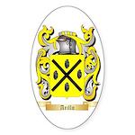 Arillo Sticker (Oval 50 pk)
