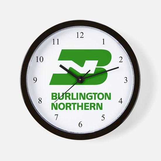 Unique Burlington northern Wall Clock