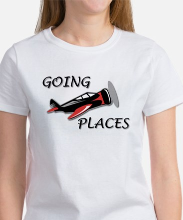 Airplanes Going Places! Women's T-Shirt