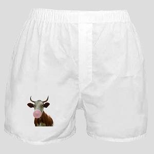 Intelligent Cow? Boxer Shorts