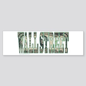 Wall Street Sticker (Bumper)