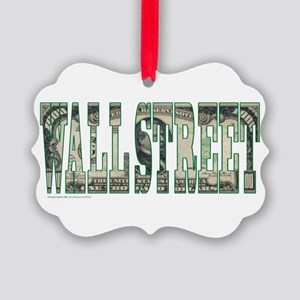 Wall Street Picture Ornament