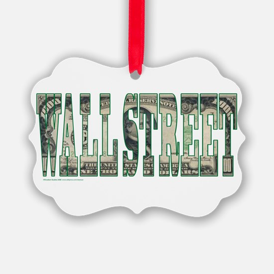Wall Street Ornament