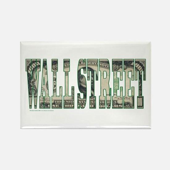 Wall Street Rectangle Magnet