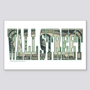Wall Street Sticker (Rectangle)