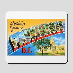 Providence Rhode Island Greetings Mousepad